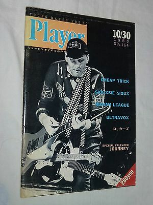 1980 Player Japan magazine book No.164 ! Cheap Trick ROBBEN FORD TOTO JOURNEY GR
