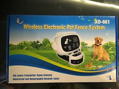 Wireless electronic pet fence - Cancello elettronico per cani-animali domestici