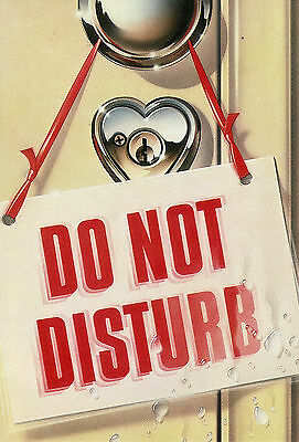 1981 Paper Moon Graphics - 'do Not Disturb' - By Roger Bergendorff