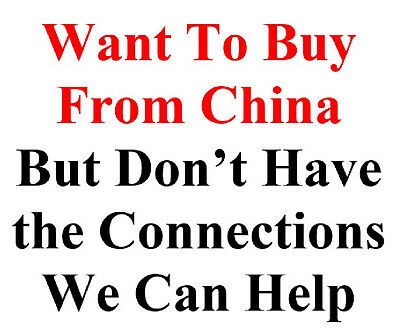 Want to Buy from China but Don't have the Connections We Can Help