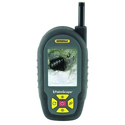 General Tools DCS950 PalmScope Compact Borescope Video Inspection Camera with 9.