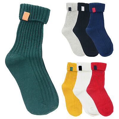 Boys Cotton Ribbed Ankle Socks Multiple Pairs Sizes from 6 to 3.5 LOT