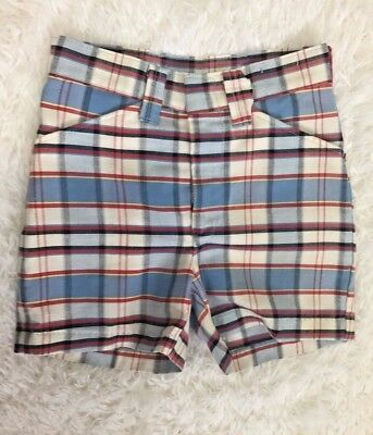 Vintage Retro 60s Novelty Striped Red White and Blue Navy Pants Sz 4T