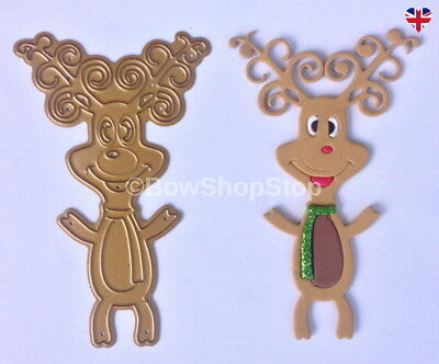 Reindeer Cutting Die compatible with Big Shot most cutting machines