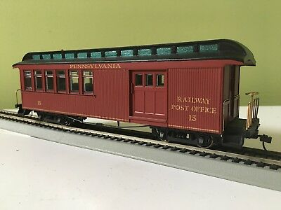 Bachmann Spectrum ON30 26114 PRR combine car coach 0N30 ON3 0-16.5