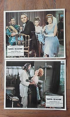 Rasputin the Mad Monk Hammer 2 original foh cards Christopher Lee