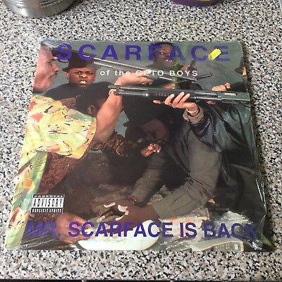 Scarface - Mr Scarface Is Back LP Vinyl Album Geto Boys Near Mint Condition 1991