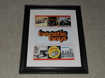 """Framed Beastie Boys Album Cover Poster, License to Ill, 1986-2004 , 14""""x17"""""""