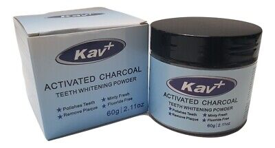 Activated Charcoal Teeth Whitening Powder Black Tooth powder Tooth 30g