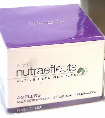 Avon - Nutraeffects Active Seed Complex Ageless Multi-Action Cream Night 50ml