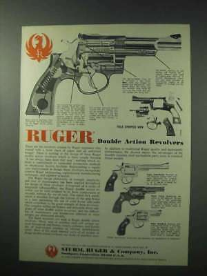 1978 Ruger Gun Ad - Security-Six, Police Service-Six