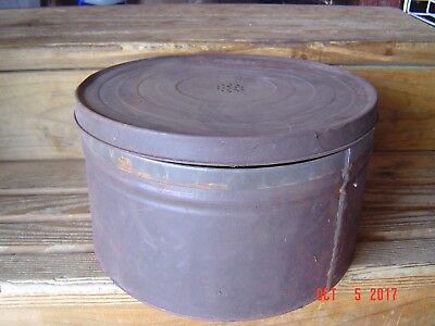 Vintage Round Vented Tin