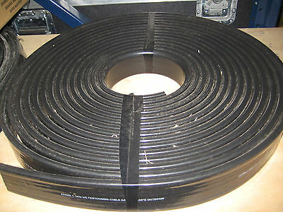 4/5 SEO 600V 105DEGREE  Feeder Flat Cable NEW festooning cable 25'