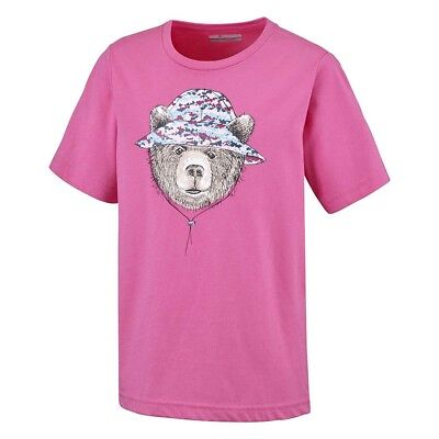 Columbia Hike The Hills T-SHIRT Girls(YOUTH).SIZE SMALL. BARGAIN.