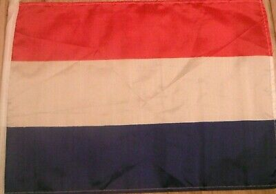 "18"" x  12"" POLYESTER DUTCH COUNTRY FLAG OF HOLLAND NETHERLANDS BOAT SCOOTER FLAG"