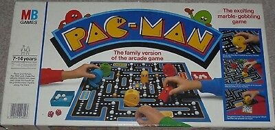 Mb Games - Pac-Man - Family Version Of The Arcade Game - 1982 Board Game