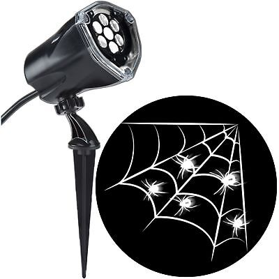 Gemmy Industries Lightshow Projection Plus Whirl-A-Motion Decorative Spider Web