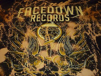 Facedown Records Shirt ( Used Size L Missing Tag ) Nice Condition!!!