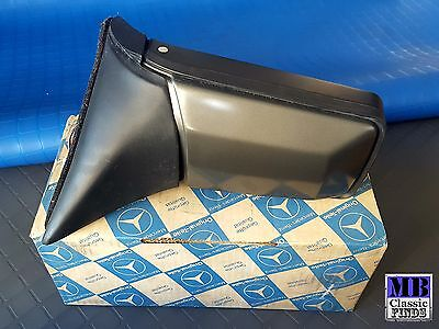 Mercedes Benz W126 coupe SEC side view mirror 420SEC 500SEC 560SEC C126 NEW OEM