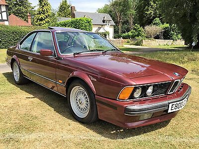 a really outstanding 1988 635Csi Highline Auto+only 88k+1 owner since 2003