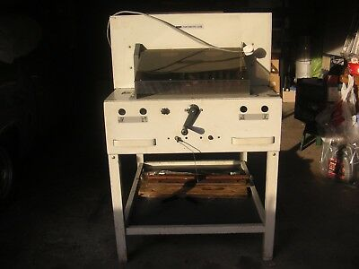 Guillotine Electric Babs Fortematic 525E