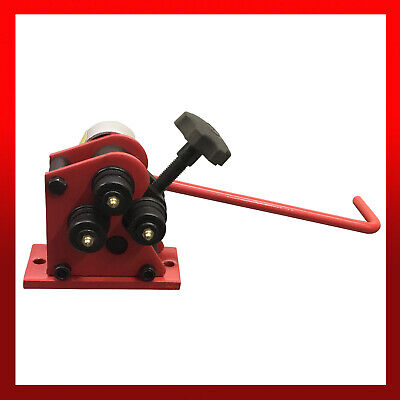 WNS Manual Ring Roller Gear Driven Planetary Bender Machine Flat Round Bar RR25B