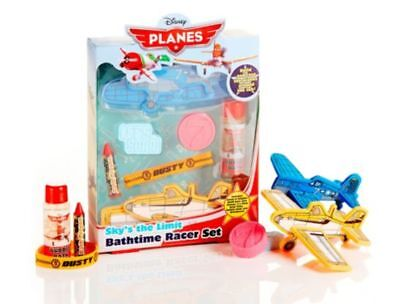 Brand New Disney Planes Kids Bath Time Set With Dusty And Skipper Ages 3 Years+