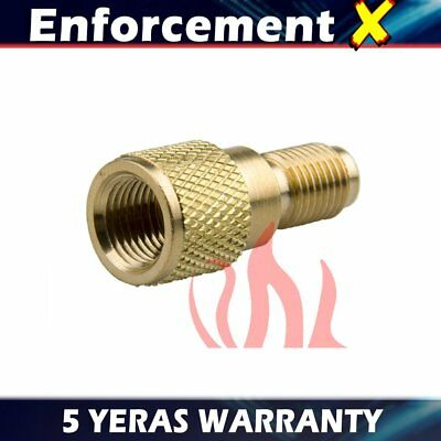 """R134a Fitting Adapter,1/4"""" Male x 1/2"""" ACME Female Charging Hose to Vacuum Pump"""