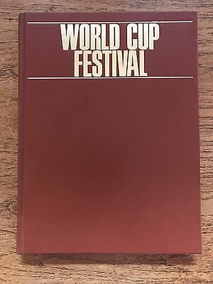 World Cup Festival Italia 90 Soccer Book
