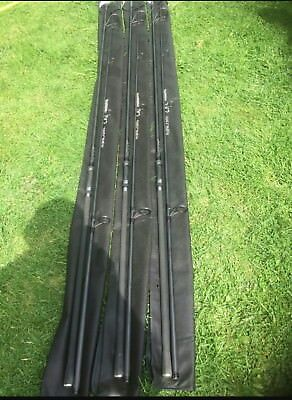 Shimano Tribal TX2 13FT 3LB TC Carp Rods x 3!Mint!Just 3 month old!