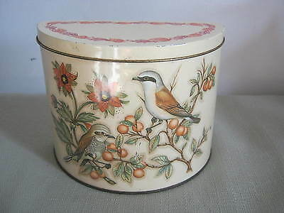 Vintage Daher, The Tin Box Company, England, Birds, Country French Design