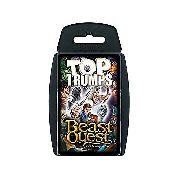 Top Trumps Beast Quest Card Game Brand New Sealed