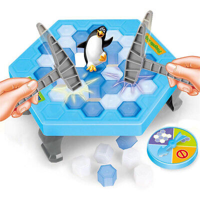Hammer Penguin Save the Penguin on Ice Game Break Ice Block Trap Family Fun Game