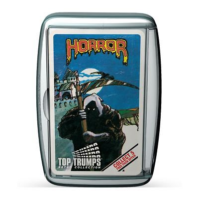 Top Trumps Horror 2 Retro Card Game 2017 Release New Sealed