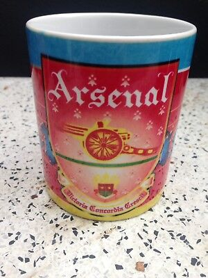 Vintage Arsenal Football Club Mug Highbury Era
