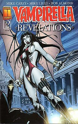 Vampirella Revelations Comic 2 Mike Lilly Cover Harris 2006 Source Part 2