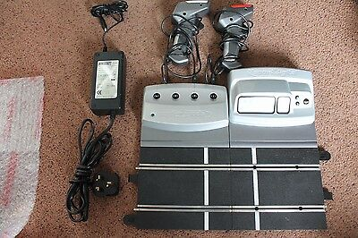 Scalextric Digital Conversion Package Powerbase Controllers Lap Counter Etc