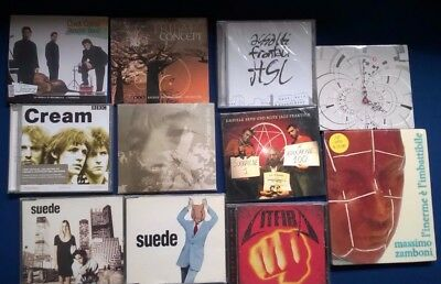 lotto 45 vinili 35 cd Pink Floyd Cream Litfiba  Marsalis little Richard Suede
