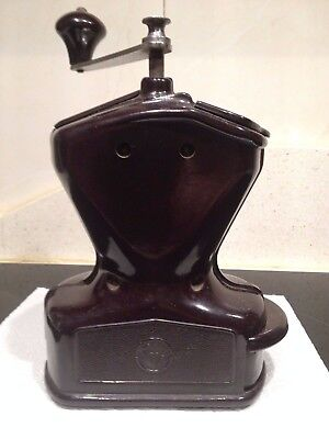 Molino de Cafe firma Alemana KYM Kissing Mollmann mocca. Antique Coffee Grinder