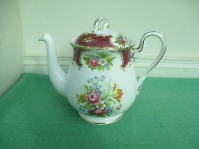 Shelley Fine Bone China DUCHESS Small teapot Excellent - 13401