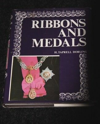 ribbons and medals H Taprell Dorling 1974 edition