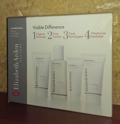 Elizabeth Arden Visible Difference Just 4 Steps Set