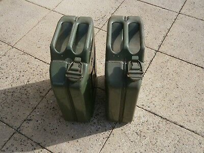 petrol jerry cans