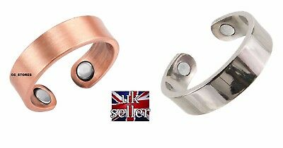 MAGNETIC COPPER RING MAGNET BIO THERAPY COPPER Healing Arthritis Pain Relief