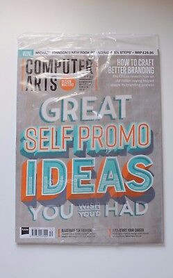 COMPUTER ARTS magazine ISSUE 260, December 2016 'Great Self Promo Ideas' - NEW
