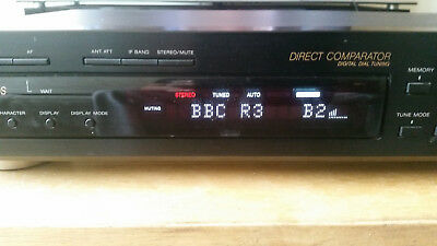 Sony ST-S370 AM / FM Stero Tuner with RDS