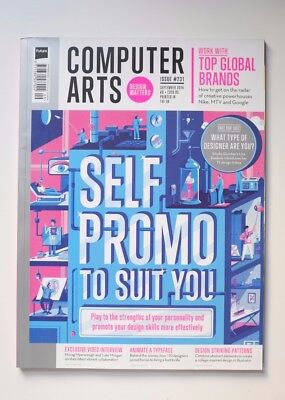 COMPUTER ARTS magazine ISSUE 231, September 2014. 'Self Promo to Suit You'