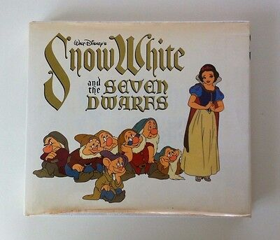 Walt Disney's Snow White and the Seven Dwarfs (Studio Book) 1979 Hardback VGC