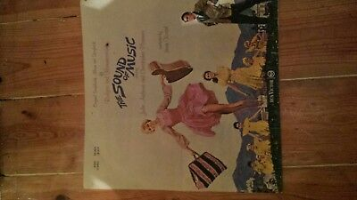 The sound of music vinyl LP original soundtrack and storybook