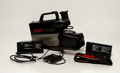 VINTAGE RCA Camcorder CPR250 In Case* As-Is**UNTESTED*